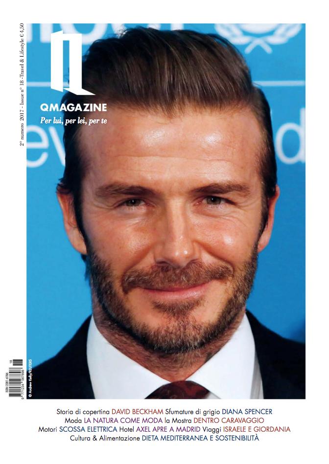 QMagazine David Beckham