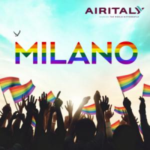 milano pride, air italy