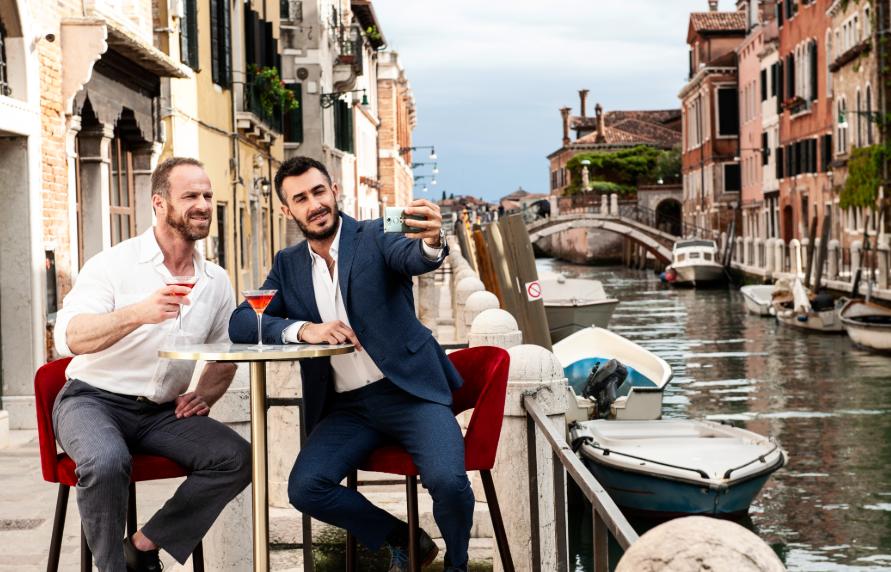 Men in Venice