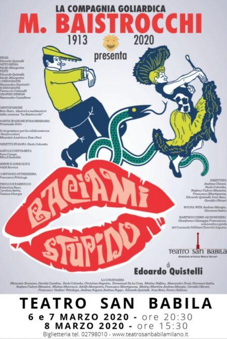 spettacolo Baciami Stupido - Baistrocchi - Genova