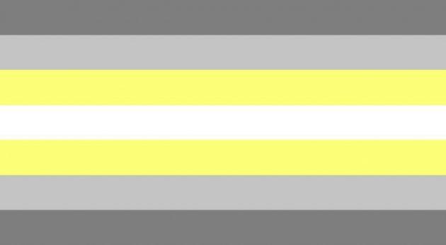 bandiera demigender, bandiera lgbtq