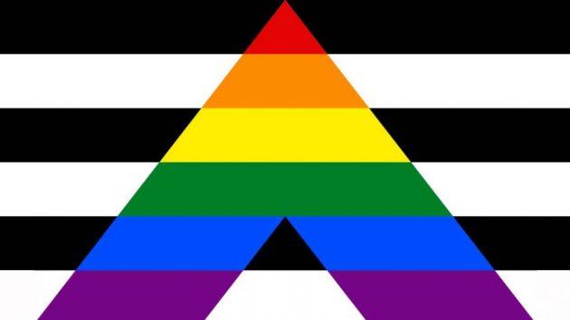 bandiera lgbtq, bandiera alleanza etero