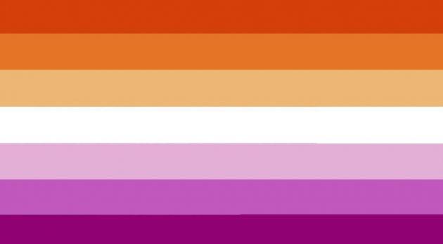 bandiere lgbtq, bandiera lesbica, guida completa