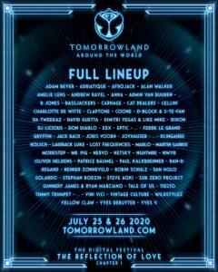 Tomorrowland around the world full line up Alex Molla